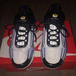 Nike Air Max Plus III 3 Size 9.5 Blue Shark